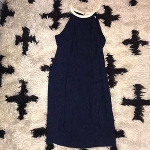 Lily Pulitzer navy blue dress